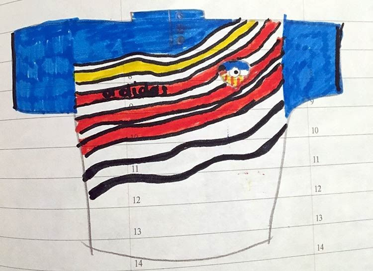 Disegno maglia Kansas City