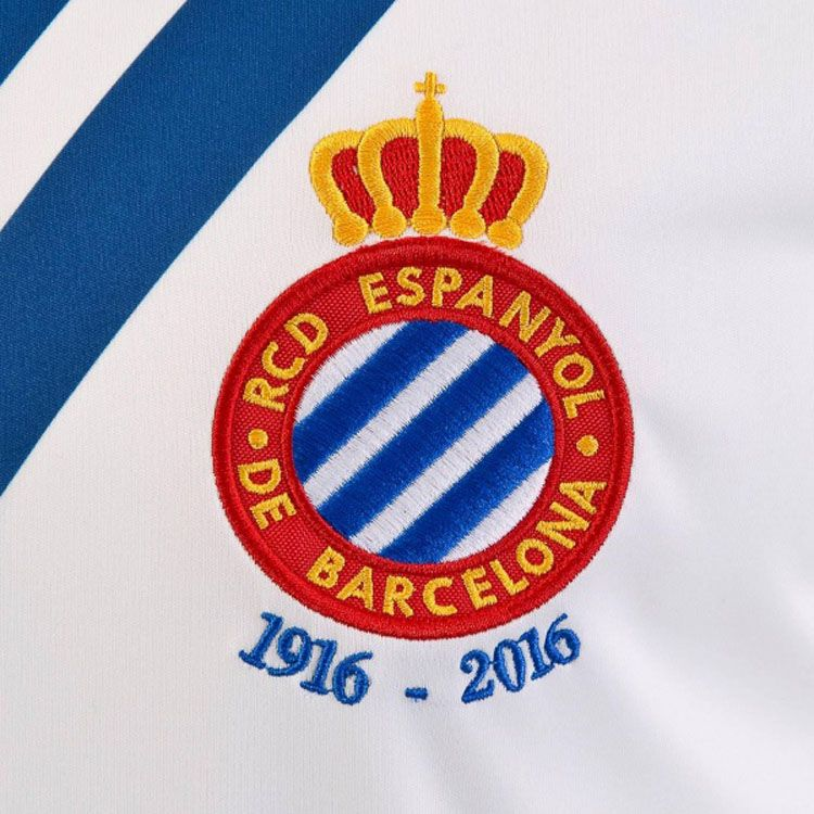 Espanyol, Joma, Maglia Speciale 2016 Ricardo Zamora, Stemma