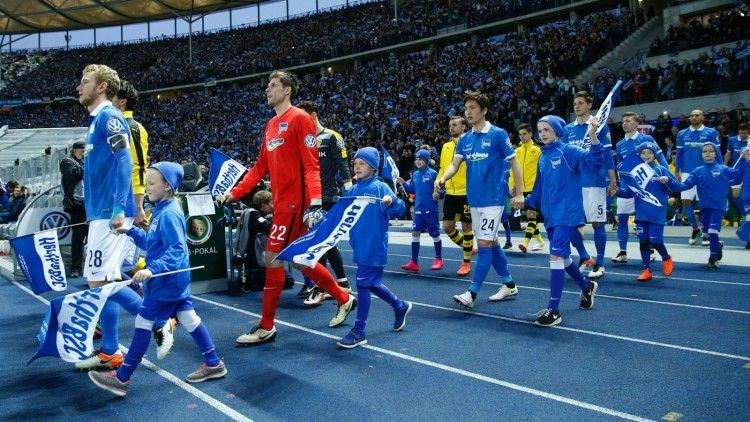 Hertha Berlino, Nike, Maglia Semifinale Coppa di Germania 2016, Olympiastadion
