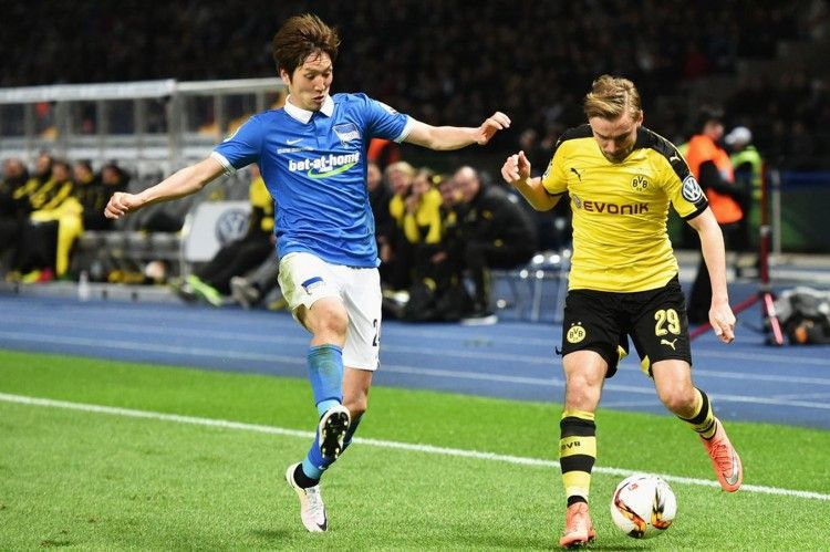 Hertha Berlino, Borussia Dortmund, Semifinale Coppa di Germania 2016