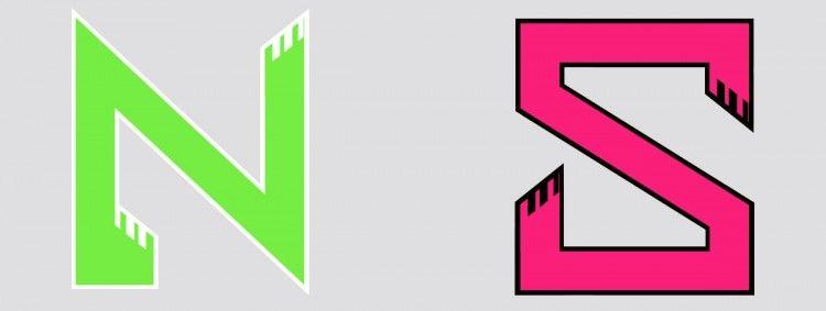 I loghi delle squadre NORD e SUD