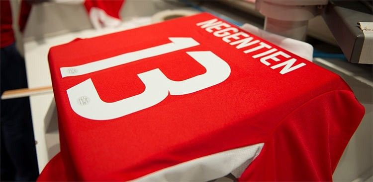 Stampa nome numero PSV Heritage