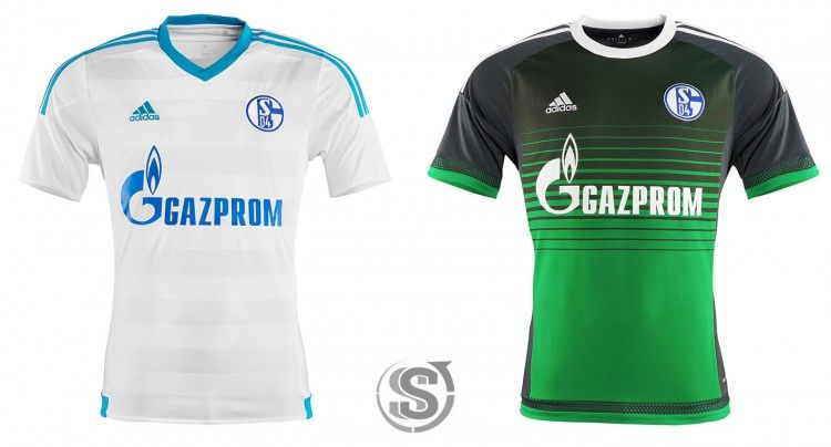 Schalke 04, maglie away e third 2015-17