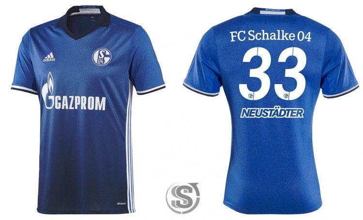 Maglia Schalke04 2016-2017 home adidas