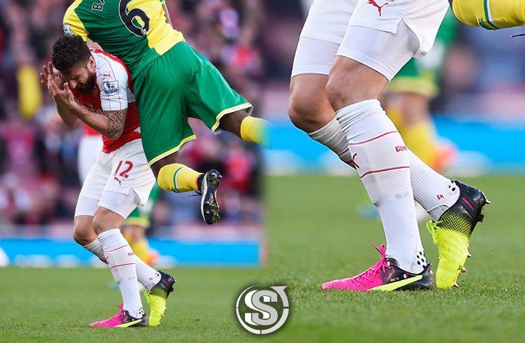 Olivier Giroud (Arsenal) - Puma EvoPower 1.3 Tricks