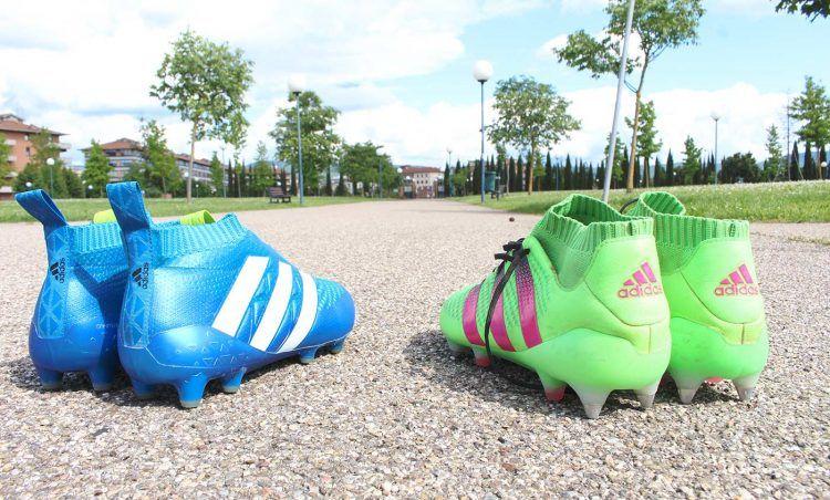 Le scarpe adidas ACE16.1 e Purecontrol