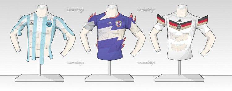 Argentina Giappone Germania Fantasy Kit