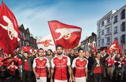 Presentazione maglia Arsenal 2016-2017
