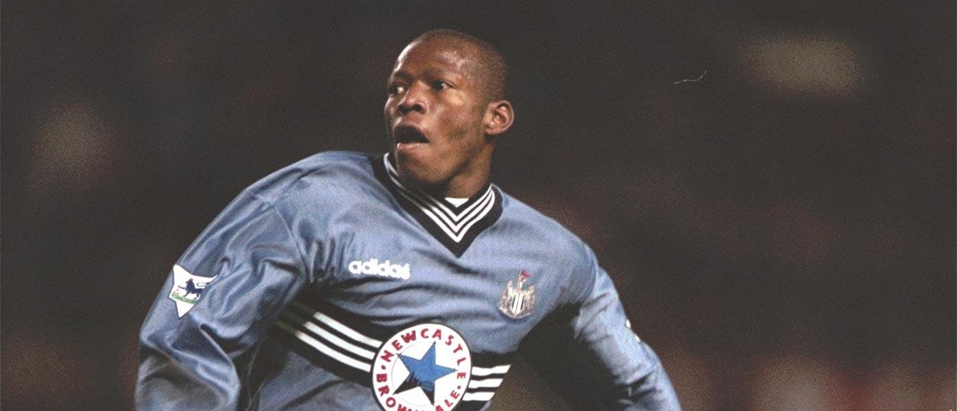 Asprilla maglia Newcastle 1996-97 away