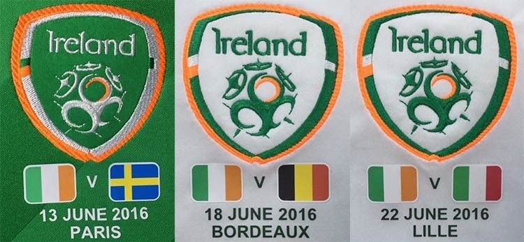 Stampa bandiere avversari Irlanda Euro 2016