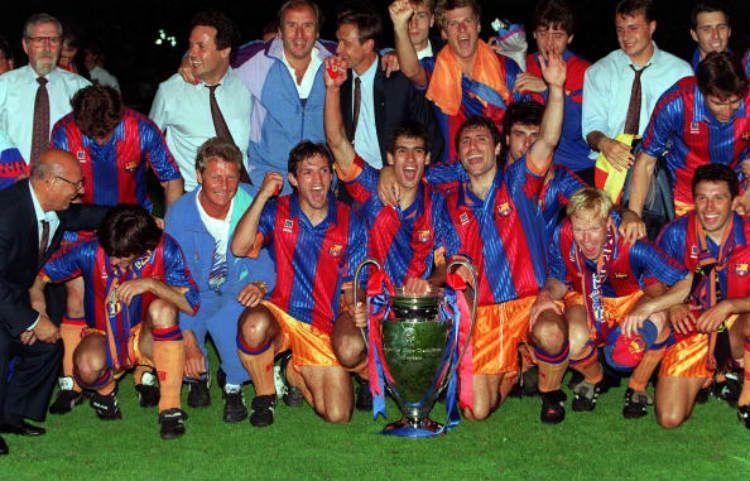 Il Barcellona del 1991-92 vince la Coppa dei Campioni