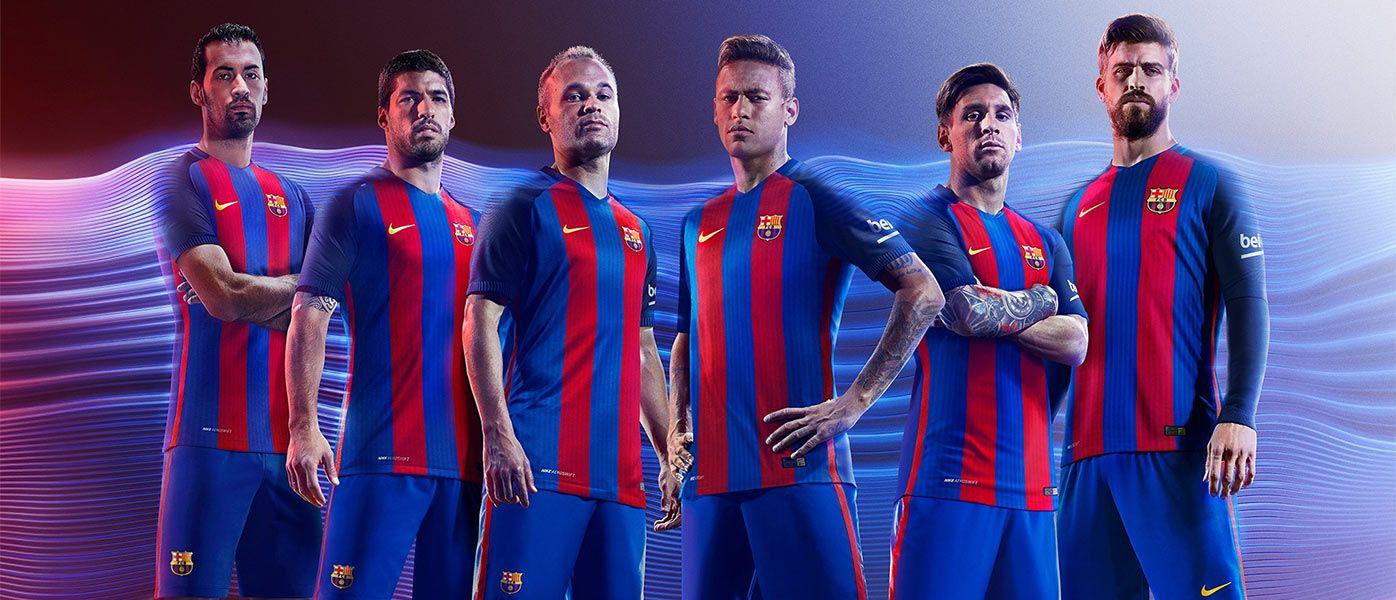 Presentazione maglia Barcellona 2016-17