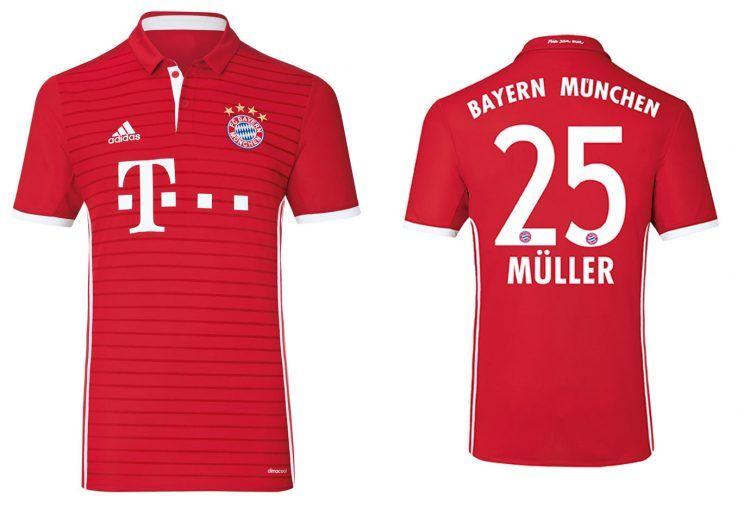 Maglia Bayern Monaco 2016-2017