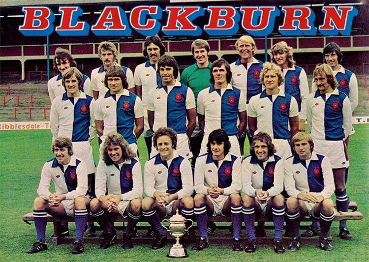 Rosa Blackburn Rovers 1975
