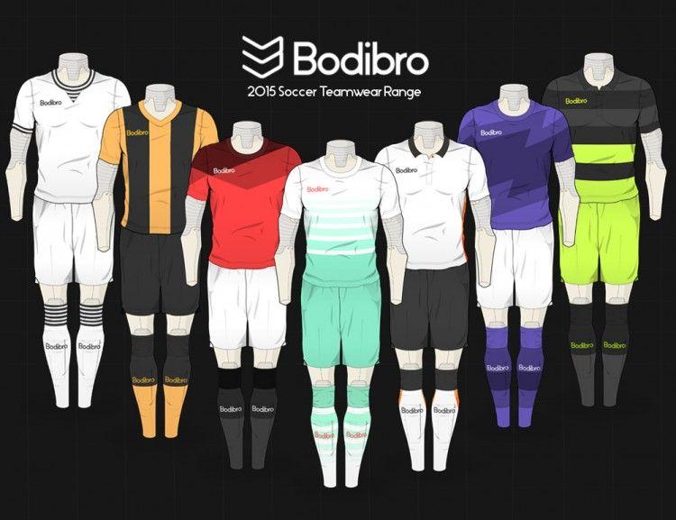 Bodibro Kit Design Templates