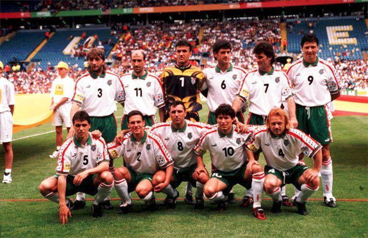La Bulgaria agli Europei del 1996