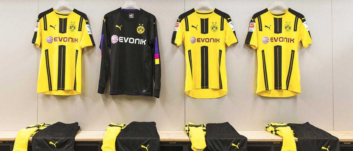 Kit Borussia Dortmund 2016-2017