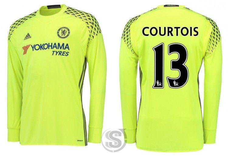 Maglia portiere Chelsea 2016-2017 Courtois
