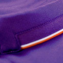 Finiture biancorosse colletto Fiorentina