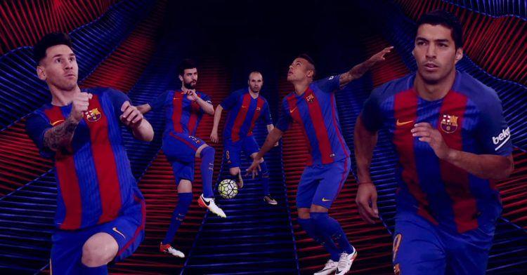 Barcellona divisa home 2016-2017
