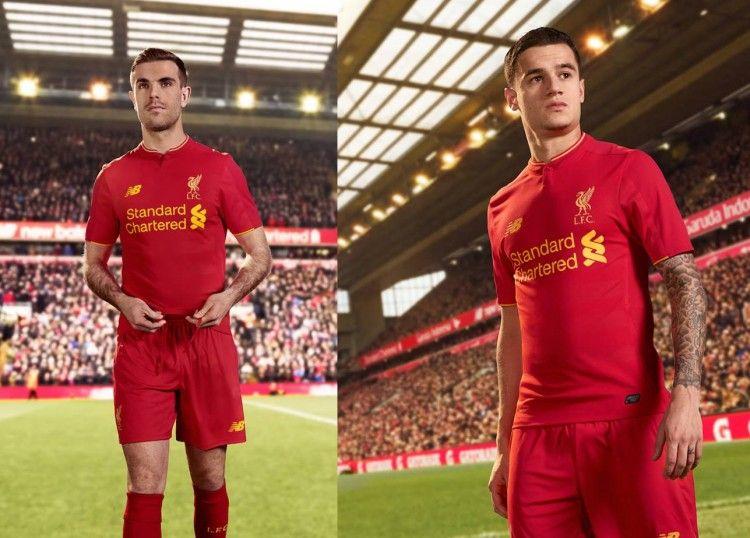 Divisa Liverpool 2016-2017