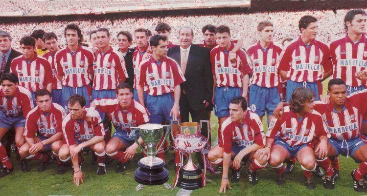 Il doblete dell'Atletico Madrid nel 1995-96