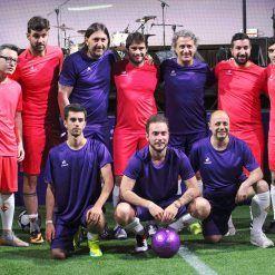 Formazione vecchie glorie Fiorentina vs Blogger