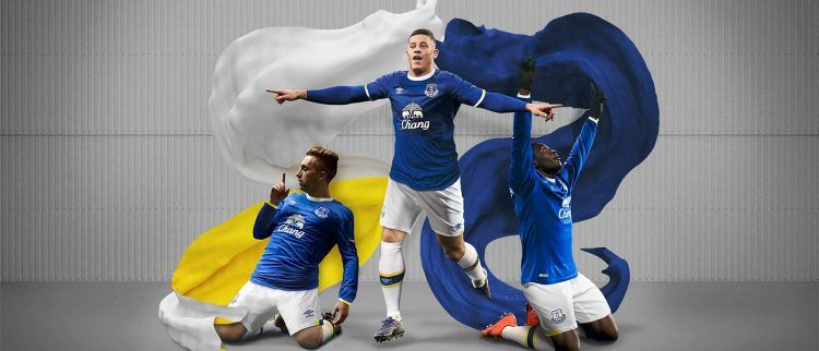 Everton kit 2016-2017