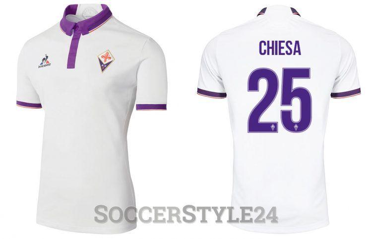 Seconda maglia Fiorentina 2016-17 Chiesa