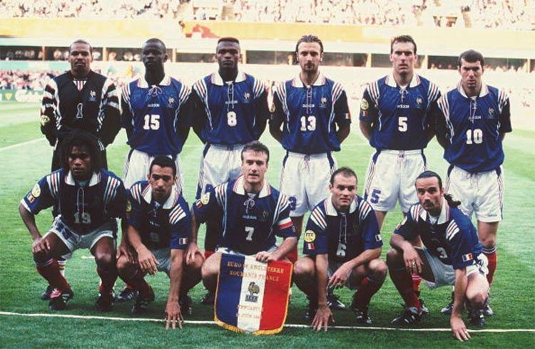 Francia-Romania, Europei 1996