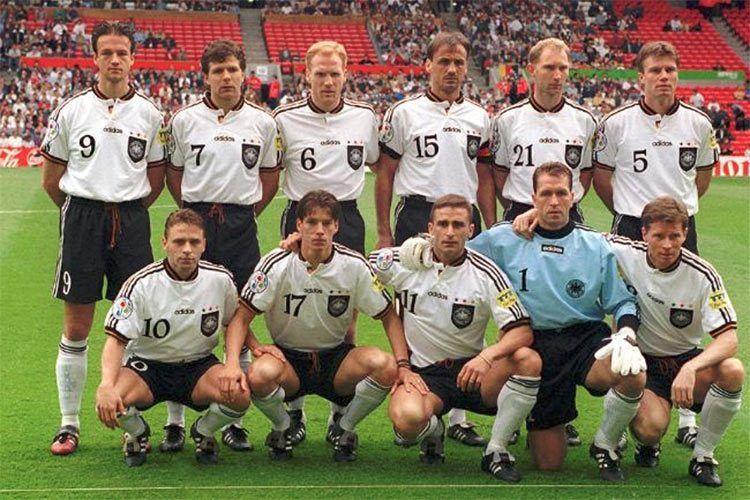 La Germania agli Europei del 1996