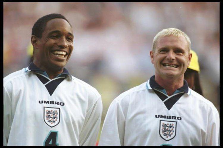 Paul Ince e Paul Gascoigne 1996