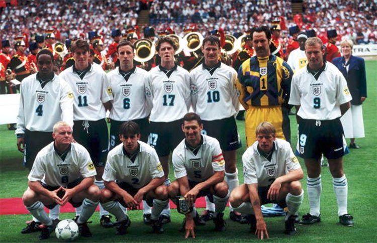 Formazione Inghilterra Euro 1996