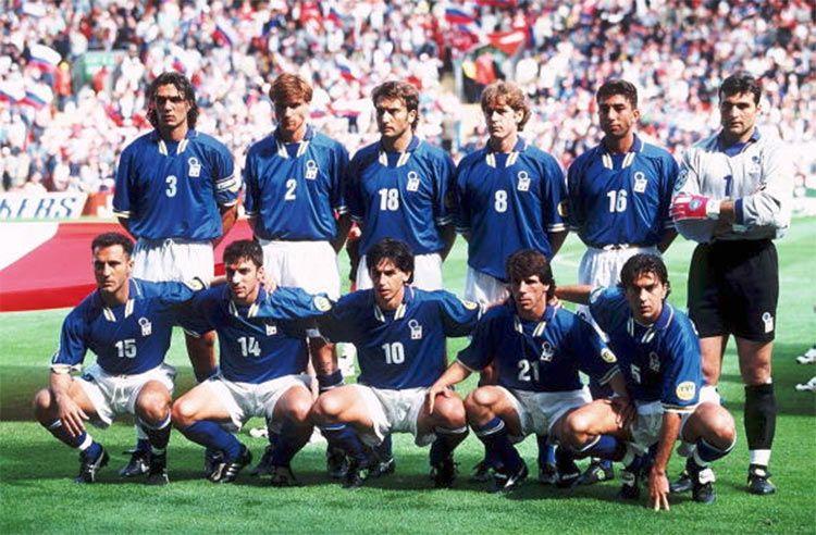 Formazione Italia Europei 1996 vs Russia