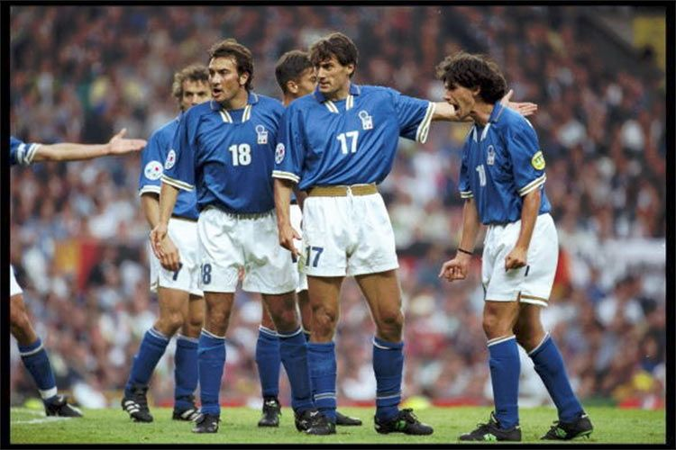 Casiraghi, Fuser, Albertini, Europei 1996