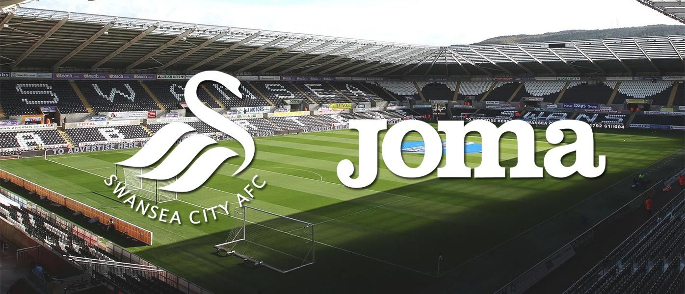 Joma sponsor tecnico Swansea City