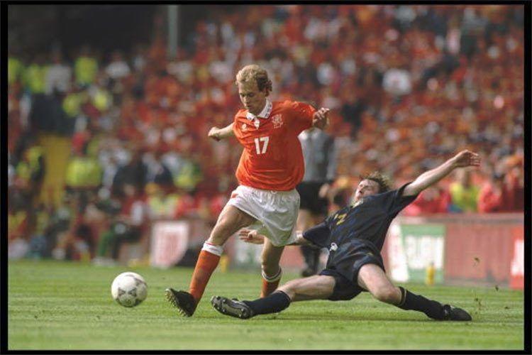 Jordi Cruyff in Olanda-Scozia 1996