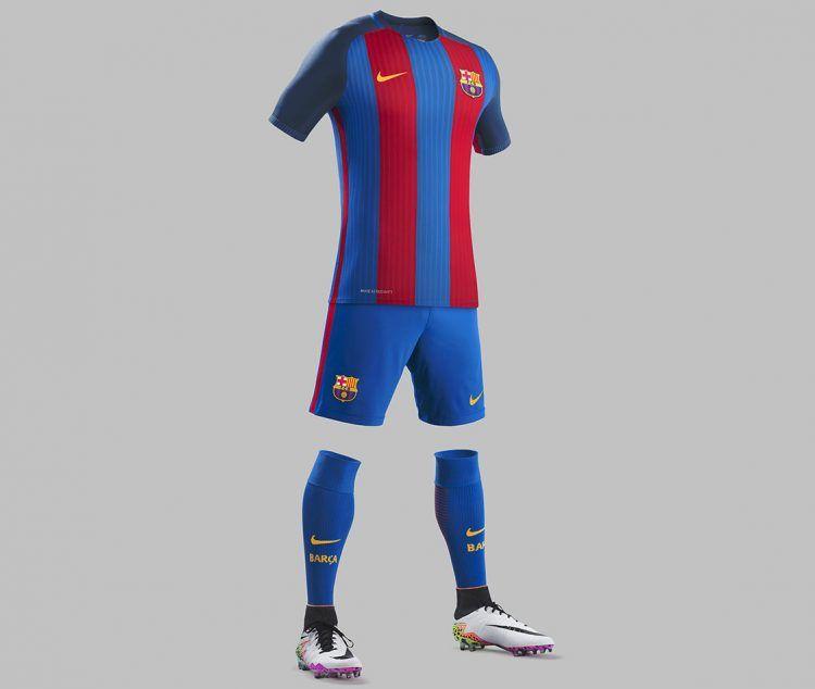 La divisa del Barcellona 2016-2017 Nike