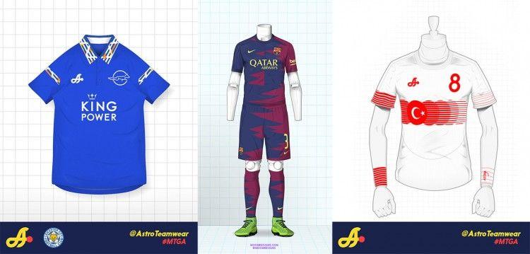 Leicester City Barcellona Turchia Kit