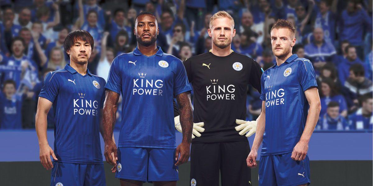 Leicester kit 2016-2017 Puma