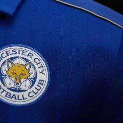 Stemma ricamato Leicester City 2016-17