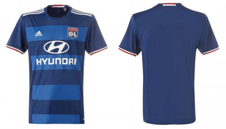 Lione seconda maglia 2016-2017