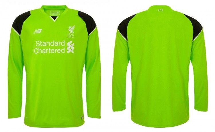 Maglia portiere Liverpool 2016-17 verde