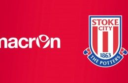 Macron sponsor tecnico Stoke City
