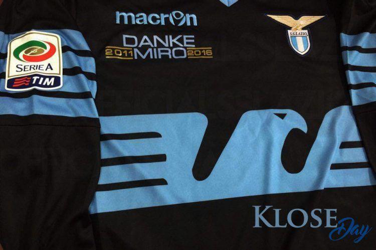 Maglia Lazio Klose Day celebrativa