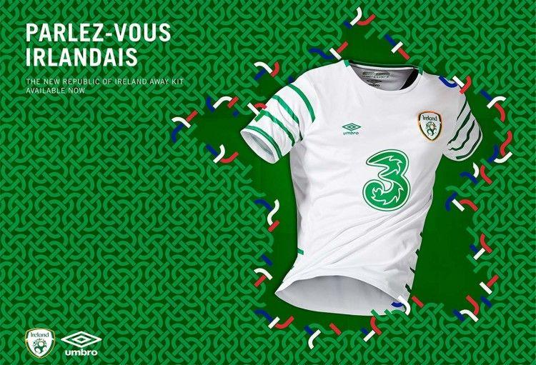 Seconda maglia Irlanda Euro 2016