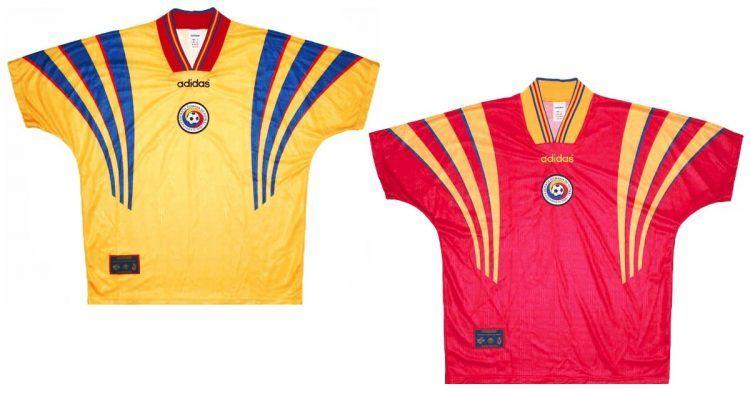 Maglie Romania Europei 1996