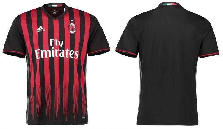 Maglia Milan 2016-2017 adidas