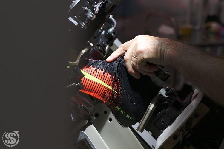 Le Mercurial Superfly realizzate dai tecnici di Montebelluna
