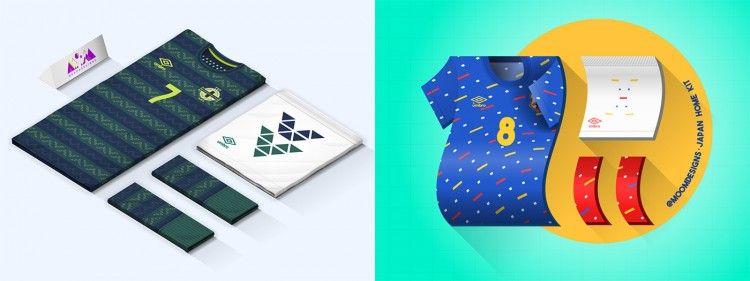 Northern Ireland Japan Umbro Kit